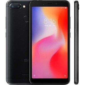 Смартфон Xiaomi Redmi 6 4/64GB Black смартфон xiaomi redmi 6 4 64gb blue