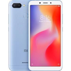 Смартфон Xiaomi Redmi 6 4/64GB Blue смартфон xiaomi redmi note 4 64gb black