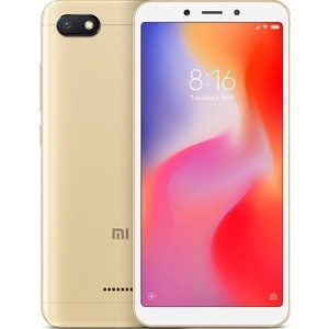 Смартфон Xiaomi Redmi 6A 2/16GB Gold цена