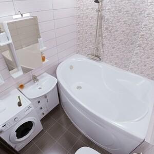 Акриловая ванна Triton Изабель L 170x100 левая, с панелью (Н0000020131, Н0000025035)