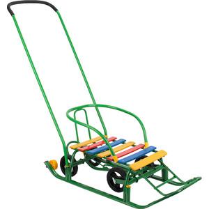 Санки GALAXY Мишутка 1 Универсал, зелен GL000609566
