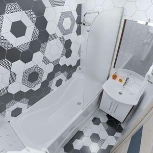 Акриловая ванна Triton Стандарт 140x70 с каркасом (Н0000099327, Щ0000041797)