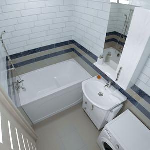 Акриловая ванна Triton Арго 120x70 с панелью (Щ0000003037, Н0000099926)