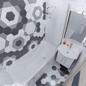 Акриловая ванна Triton Стандарт 150x70 с каркасом (Н0000099328+Щ0000011575)