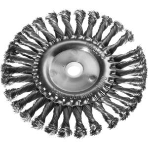 Корщетка-колесо DEXX жгутированная 0,5 мм 175 х22 (35100-175)
