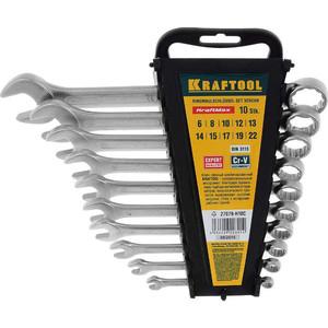 Набор ключей комбинированных Kraftool 10шт 6-22 мм (27079-H10C)