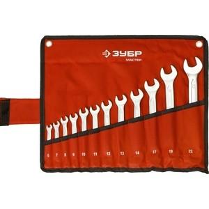 Набор ключей комбинированных Зубр 12шт 6-22 мм (27087-H12)