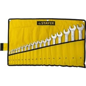 Набор ключей комбинированных Stayer 18шт 6-32 мм (27081-H18)