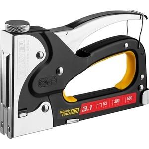 Степлер ручной Stayer BlackPro 53 3-в-1 Professional (31507)