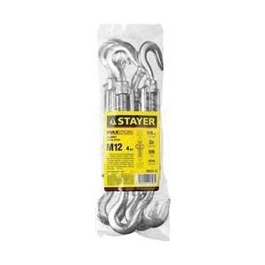Талреп Stayer DIN 1480 крюк-крюк М12, 4шт (30525-12)