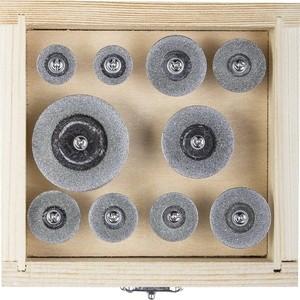Набор насадок для гравера Зубр Эксперт d 16-40, P200, 10 предметов (33385-H10)