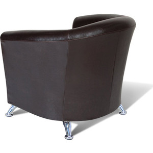 Кресло Шарм-Дизайн Евро экокожа коричневый