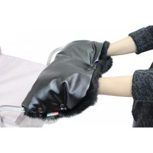 Муфта Vikalex Snow Dreams эко-кожа/белый мех коляска классическая vikalex grata 3 в 1 leather white vi73401