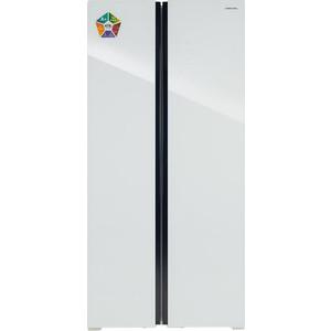 Холодильник Hiberg RFS-480DX NFGW цена 2017