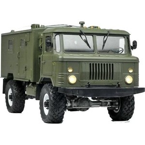 Радиоуправляемый краулер Cross RC GC4M ГАЗ 66 (кунг) 4WD KIT масштаб 1:10 - CR90100039 1 5 rc car baja 5t upgrade 5sc conversion kit hd nylon parts free shipping 85148