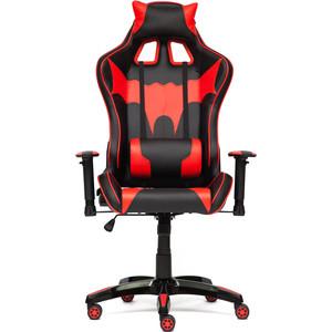 Кресло TetChair iBat кож/зам, черный/красный