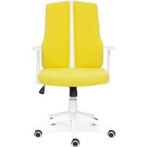 Кресло TetChair LITE белый, ткань, зеленый 102 цена