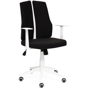 Кресло TetChair LITE белый, ткань, черный 54
