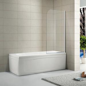 Шторка на ванну Alvaro Banos Oviedo 75 прозрачная, хром (OVIEDO G75.11 Cromo)