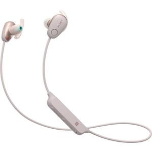 Наушники Sony WI-SP600N pink