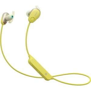 Наушники Sony WI-SP600N yellow