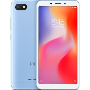 Смартфон Xiaomi Redmi 6A 2/16GB Blue смартфон xiaomi redmi 6a 2 16gb black