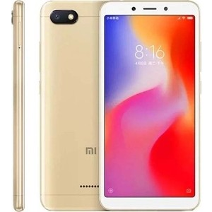 Смартфон Xiaomi Redmi 6A 2/32GB Gold смартфон xiaomi redmi 6a 2 16gb black