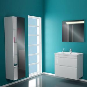 Мебель для ванной Alvaro Banos Armonia Maximo 80 белый лак