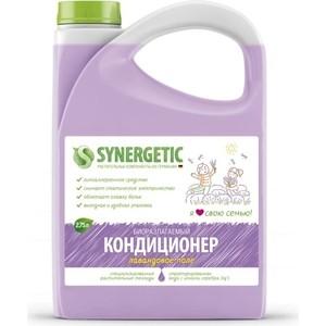 Кондиционер Synergetic для белья ЛАВАНДОВОЕ ПОЛЕ, канистра ПЭ, 2.75л