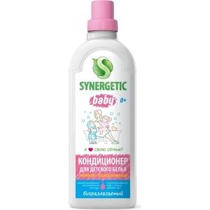 Кондиционер Synergetic для детского белья НЕЖНОЕ ПРИКОСНОВЕНИЕ, 1 л