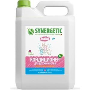 Кондиционер Synergetic для детского белья НЕЖНОЕ ПРИКОСНОВЕНИЕ, 5 л