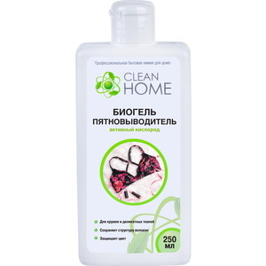 Биогель CLEAN HOME пятновыводитель активный кислород, 400мл все цены