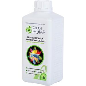 """Гель CLEAN HOME для стирки антибактериальный для спортивной одежды и обуви формула """"Антизапах"""", 1л"""