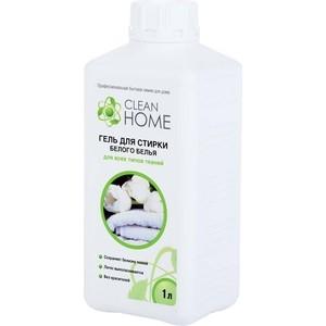 Гель CLEAN HOME для стирки белого белья, 1л