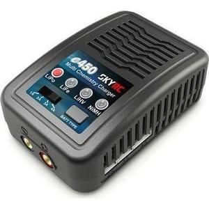 Зарядное устройство SkyRC E450 (220V, C:1-4A, LiPo LiFe LiHV - 2-4S, NiMH 6-8S) SK-100122-02