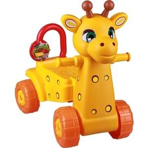 Каталка Альтернатива Жираф жёлтый