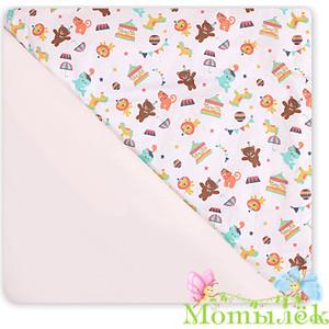 цена на Одеяло-плед Осьминожка (сатин на флисе) 100*100 мишки (мальчик)