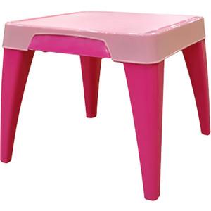 Детский стол Little Angel Я расту розовый р-р 605*605*50см