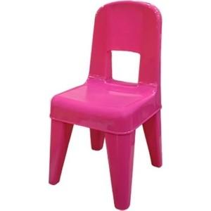 Стульчик детский Little Angel Детский стул Я расту розовый р-р 30*32*58см (уп2)
