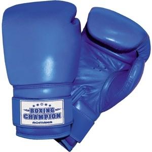 Перчатки боксерские Romana для детей 10-12 лет (8 унций) ДМФ-МК-01.70.05 перчатки боксерские adidas response сине белые 10 унций adibt01