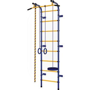 Детский спортивный комплекс Пионер С1РМ сине/желтый цена