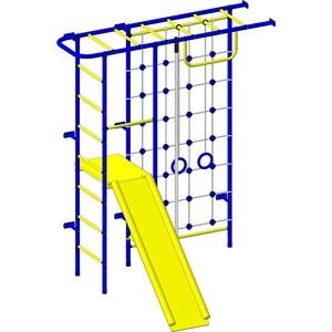 Детский спортивный комплекс Пионер 11СМ сине/желтый