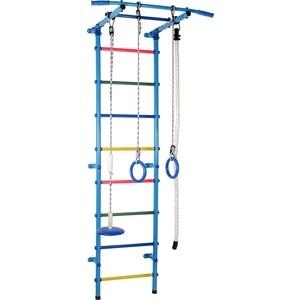 Фото - Детский спортивный комплекс Формула здоровья Start 1 голубой/радуга настольная игра радуга забавные