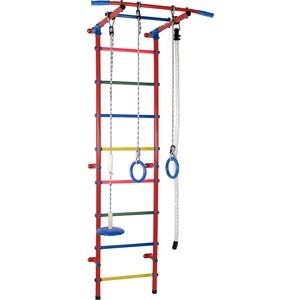 Детский спортивный комплекс Формула здоровья Start 1 красный/радуга