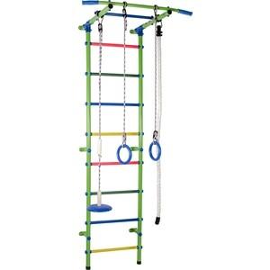 Детский спортивный комплекс Формула здоровья Start 1 салатовый/радуга