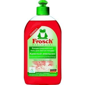 Гель для мытья посуды Frosch Красный апельсин, концентрированный, 500 мл