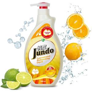 Гель для мытья посуды и детских принадлежностей Jundo Juicy Lemon, с гиалуроновой кислотой, концентрат , 1 л