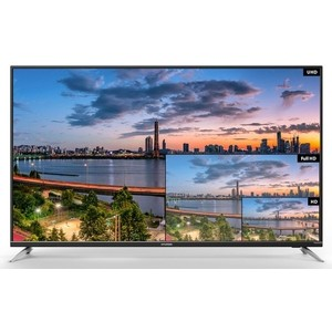 LED Телевизор Hyundai H-LED55U601BS2S телевизор hyundai h led43f402bs2 black