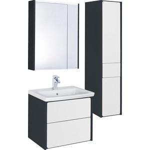 Мебель для ванной Roca Ronda 60 антрацит/белый глянец