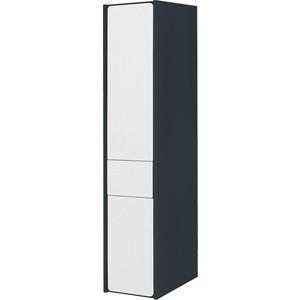 Пенал Roca Ronda левый, антрацит/белый глянец (ZRU9302966) шкаф пенал roca ronda 32 подвесной zru9302966 l белый глянец серый матовый